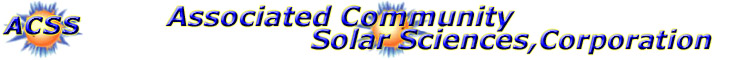 Associated Community Solar Sciences